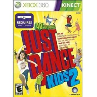 Looking For Xbox 360 Just Dance Kids 2