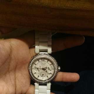 AC Watch White Ceramic
