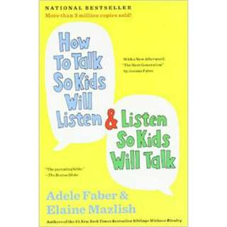 Brand New - How To Talk So Kids Will Listen By Adele Faber - Paperback