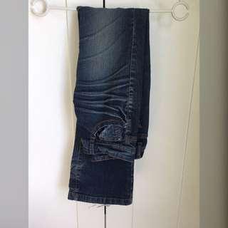 牛仔褲  喇叭褲