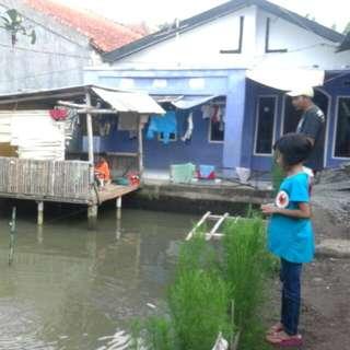 Rumah Dan Kolam Ikan