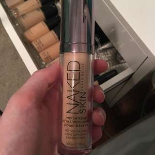 Urban Decay Weightless Foundation Colour 2.O