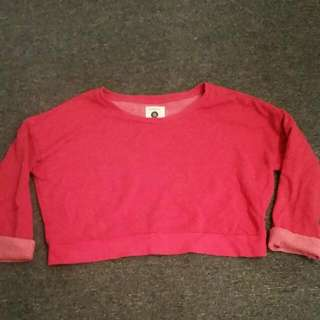🎉🎉Cotton On Red Cropped jumper Small Size