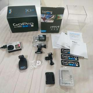 Gopro Hero 4 Black *Mint Condition* With Accessories