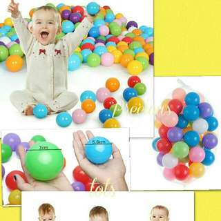 Colourful 7cm Fun Balls