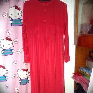 Baju Panjang Pink Mellow / Gamis