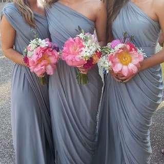 Bridesmaid dress[es] (White Runway)