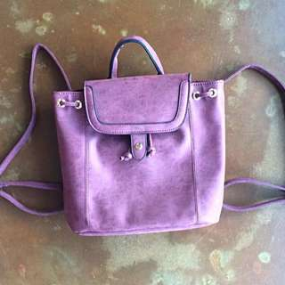 Backpack Princess Highway - Purple Suede