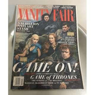 Game of Thrones Cover: VANITY FAIR MAGAZINE April 2014