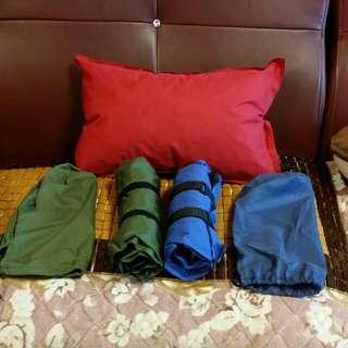 多功能自動充氣休閒枕