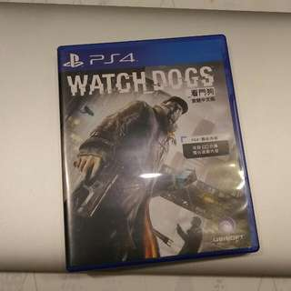 PS4 看門狗 Watch Dogs