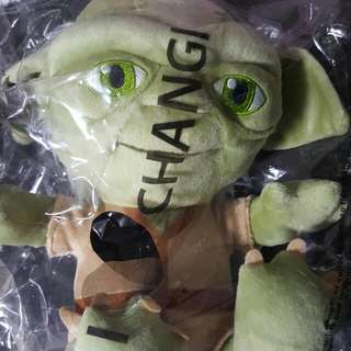 Brand New Yoda Star Wars Plushie