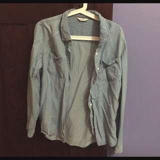 Supre Chambray Shirt Size 8