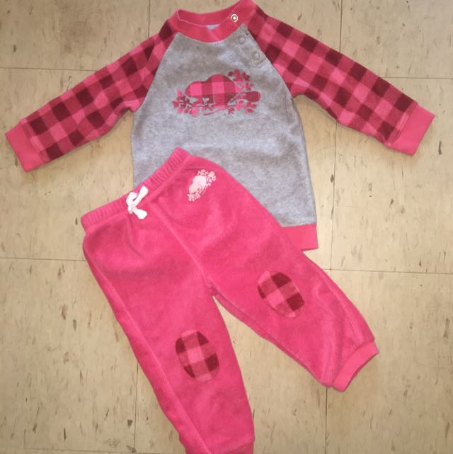 2 Pcs Children's Roots Tracksuit