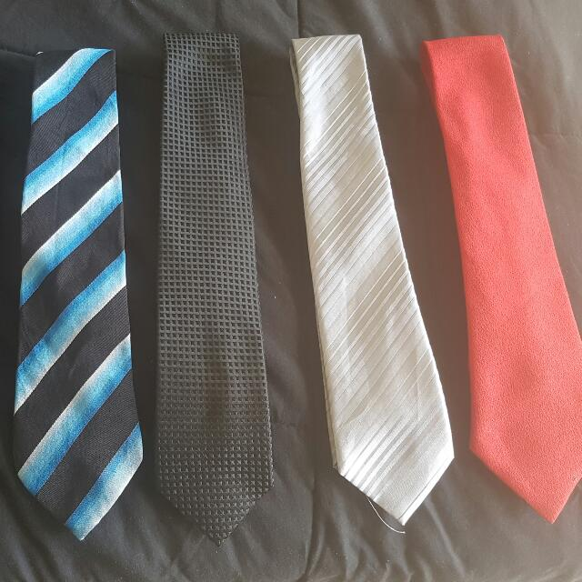 6 Ties $20 The Lot