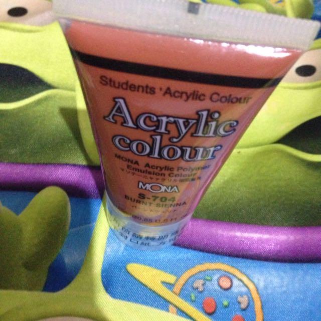 咖啡色顏料/壓克力水彩顏料