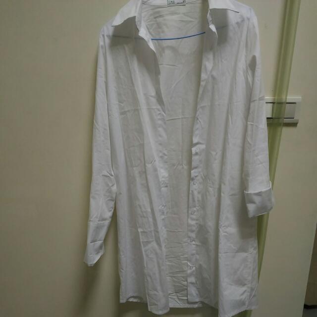 長版襯衫外套