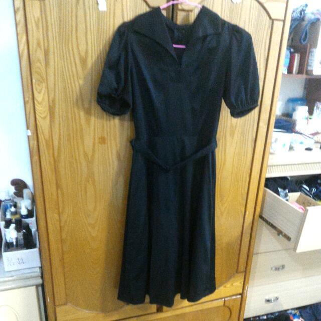 ✨黑色古著洋裝(已留)