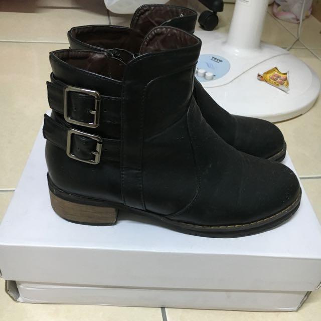正韓軍靴 踝靴
