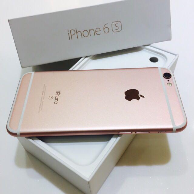 🍎Apple iPhone 6s 16G 搶破頭玫瑰金