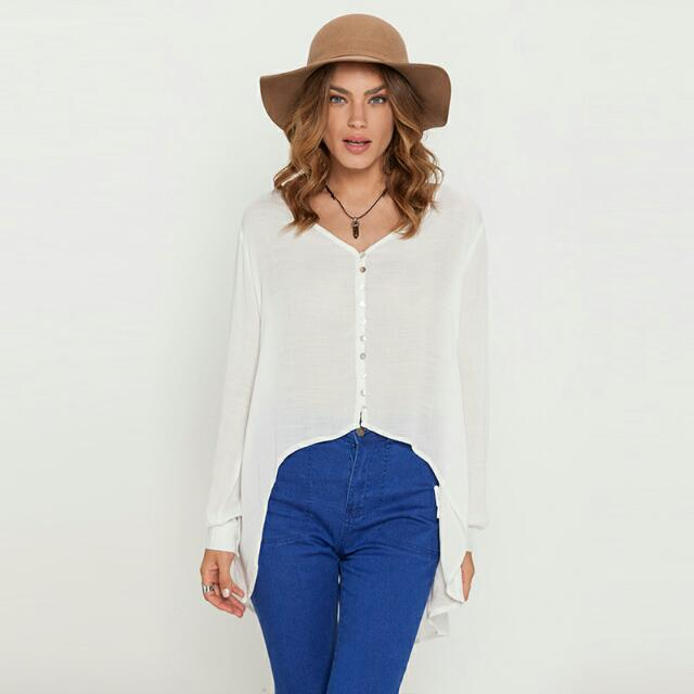 Ava And Ever Long Sleeve Top