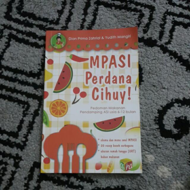 Buku Pedoman Mpasi