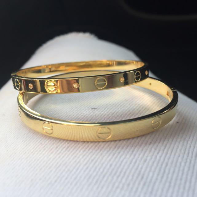 Carter 18K Gold Plated Bracelet !!FREE DELIVERY!!