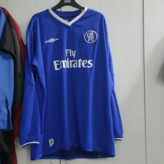 newest collection 127f1 779cb Chelsea 2004 2005 Home Shirt Jersey
