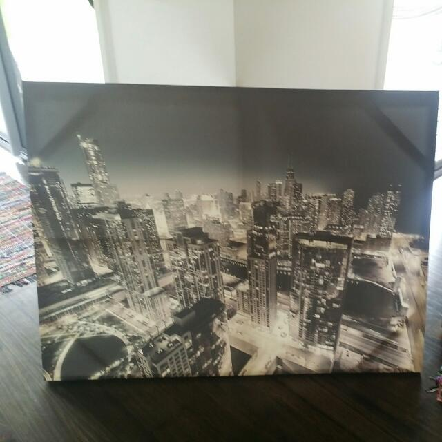 City Print Canvas 1.5 X 90
