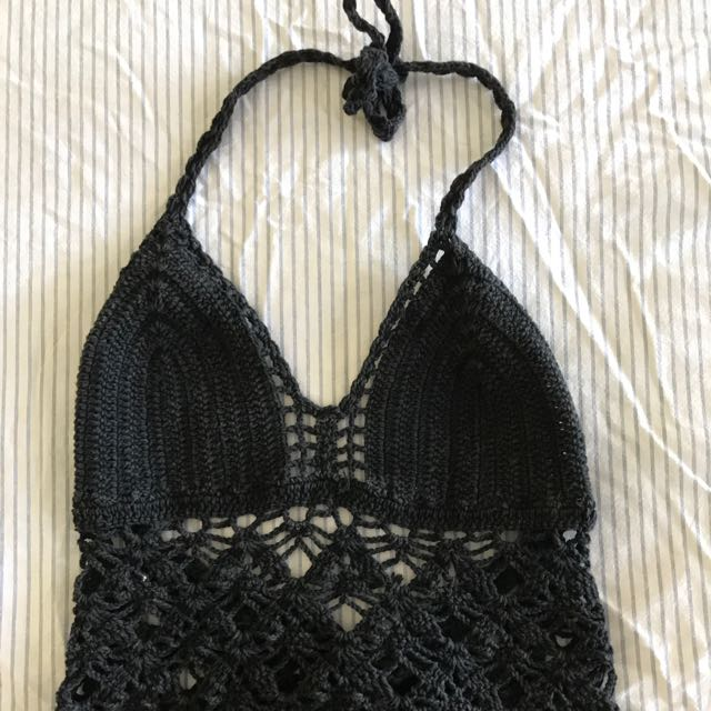 Crochet Black One Size Fits All