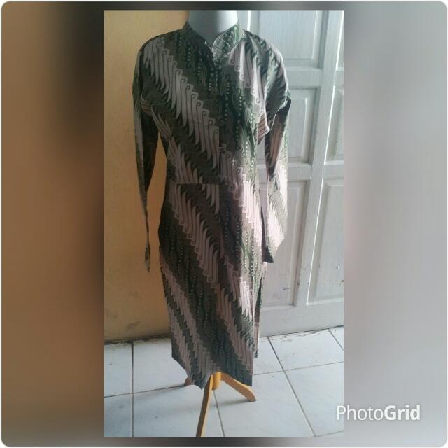 Dress batik solo (FreeOng Jabodetabek)