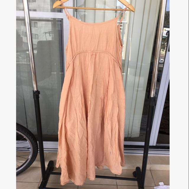 Frenchy Cotton Long Dress Size 10/12