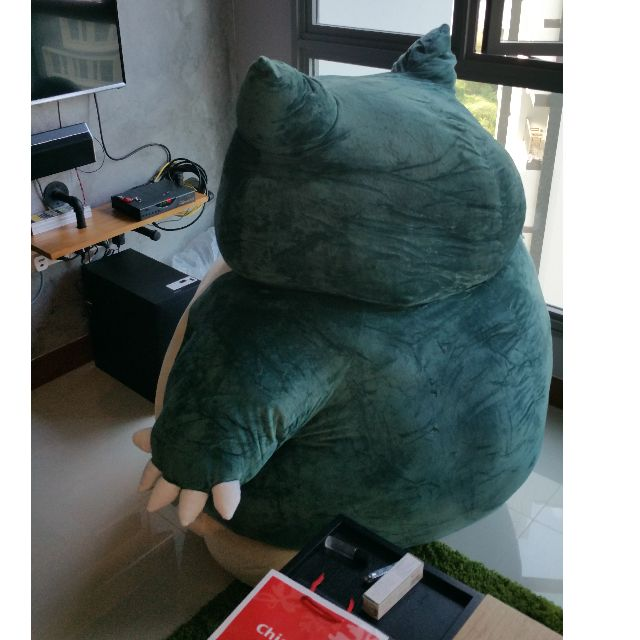 GIANT SNORLAX Toys Games On Carousell