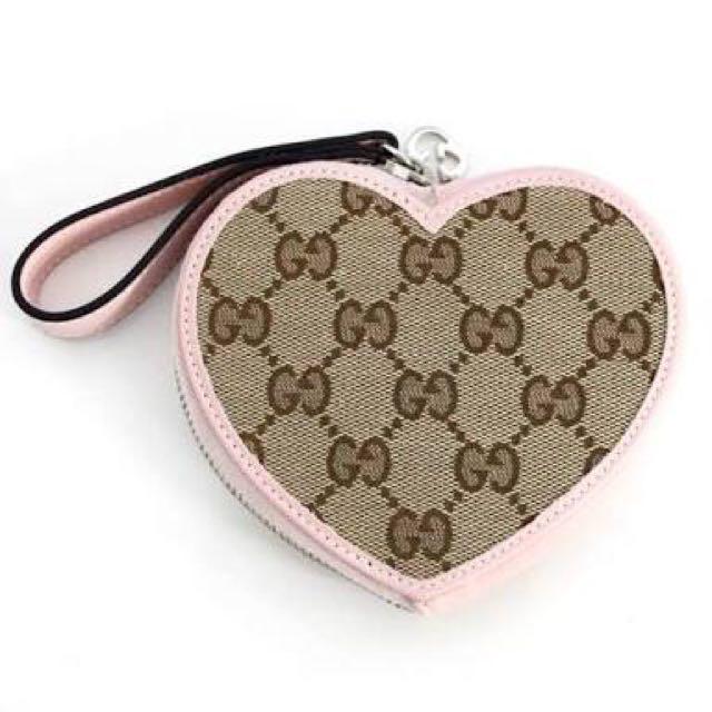 GUCCI Heart-shaped Coin Purse