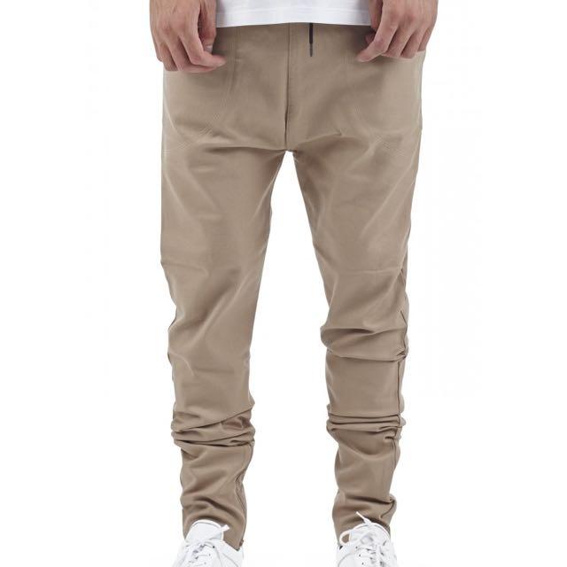 I Love Ugly Zespy Tan Pants