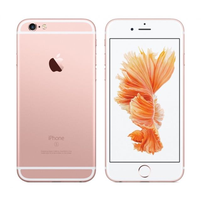 iPhone 6s 128g 玫瑰金