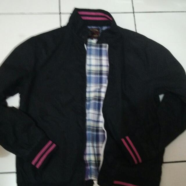 jaket beams (semi harrington)