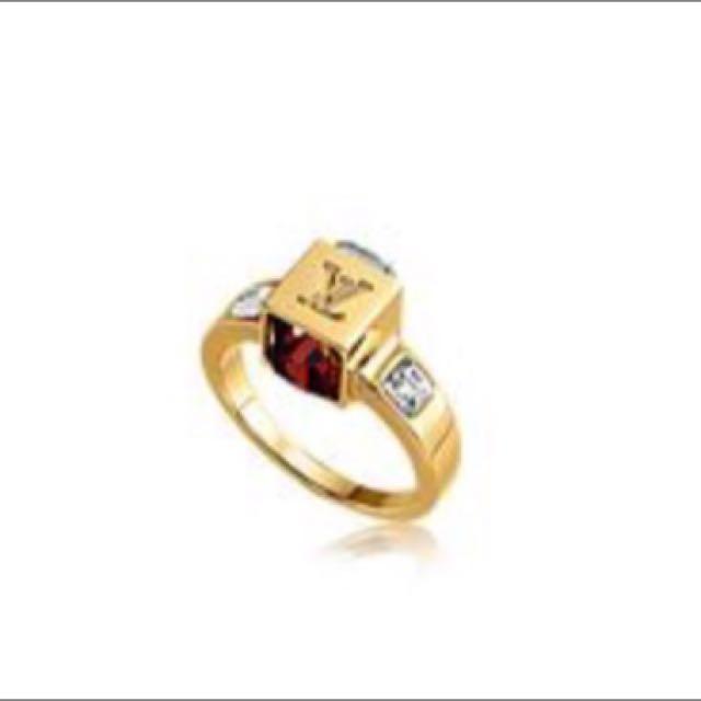 Louis Vuitton Gamble Ring