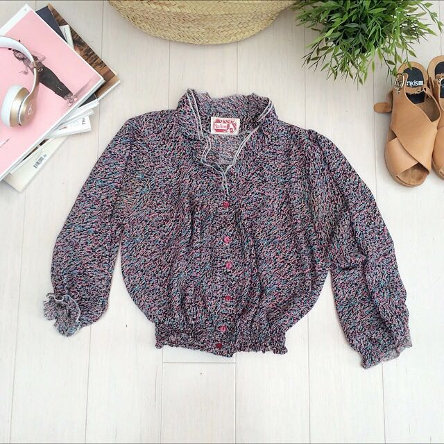 Miss Brown blouse
