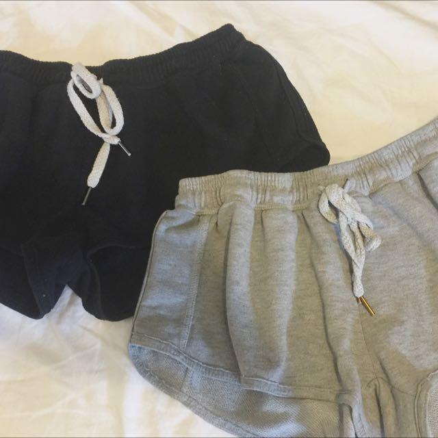 Pajama Short Shorts