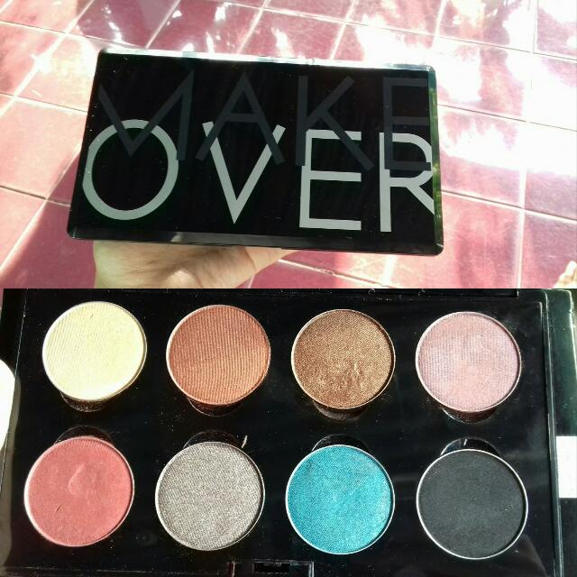 Palette Eyeshadow Brand Make Over