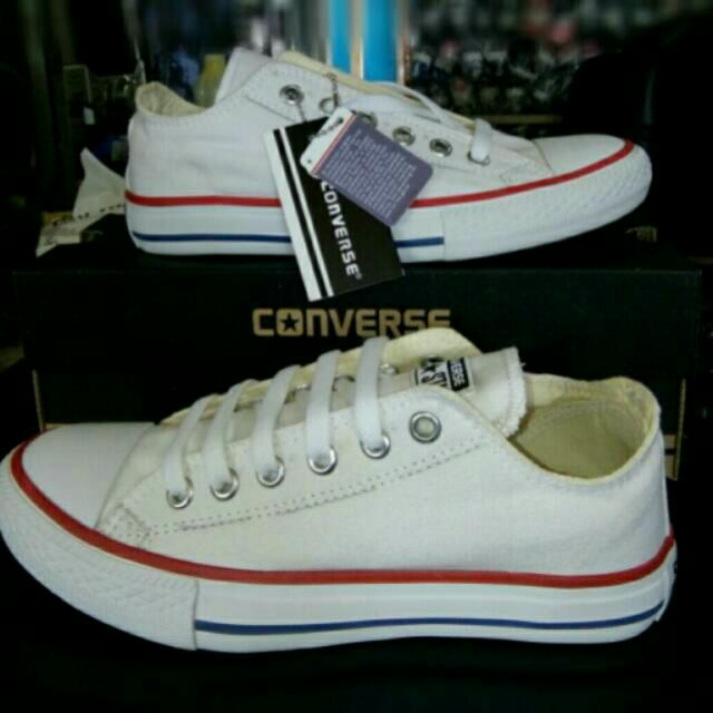 Sepatu converse all star grade ori white low d7002232b9