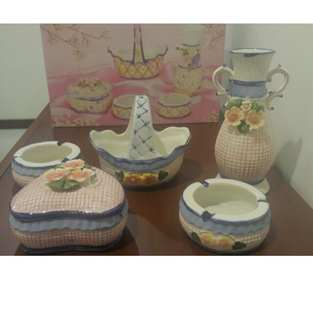 Set Of Home Accessories