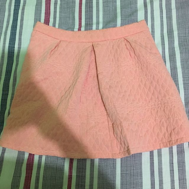 Stradivarius Peach Skirt