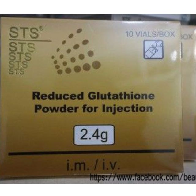 STS Glutathione 2400 mg by Kunming Pharmaceutical Corp.