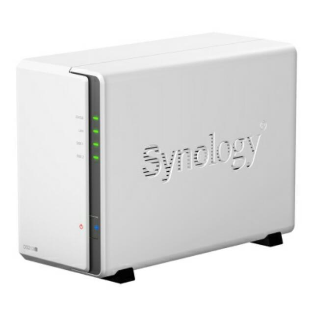 Synolgy DS 213j (入門 NAS 好選擇)