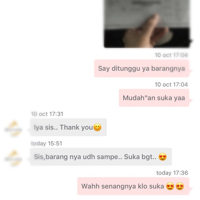 Thank You Customer 💋