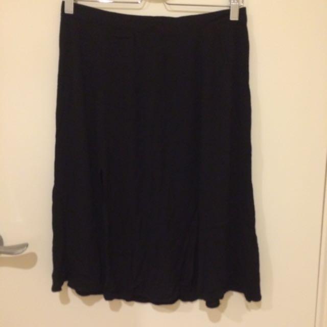 Two Slits Skirt