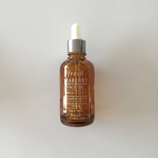 Used FRESH Seaberry Face Oil