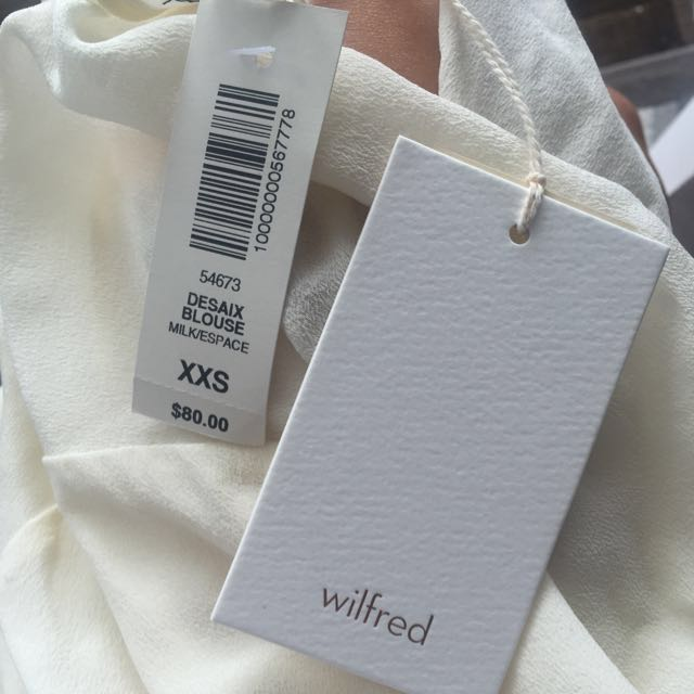 Wilfred Silk Blouse